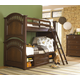 Samuel Lawrence Furniture Expedition 4-Piece Bunk Bedroom Set in Cherry
