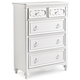 Samuel Lawrence Furniture SweetHeart Drawer Chest in Bright White 8470-440
