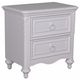 Samuel Lawrence Furniture SweetHeart Nightstand in Bright White 8470-450