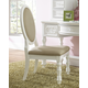 Samuel Lawrence Furniture SweetHeart Desk Chair in Bright White 8470-452