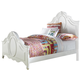Samuel Lawrence Furniture SweetHeart Full Panel Bed in Bright White