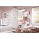 Samuel Lawrence Furniture SweetHeart 4-Piece Bunk Bedroom Set in Bright White