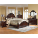 Standard Furniture Westchester Poster Bedroom Set in Rich Cherry