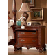 Fairfax Home Furnishings Buckingham Traditional Nightstand in Rich Brown - 1121-01