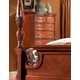 Fairfax Home Furnishings Buckingham Traditional Drawer Chest in Rich Brown - 1121-07