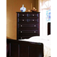 Fairfax Home Furnishings Council Drawer Chest in Espresso - 2065-07