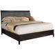 Fairfax Home Furnishings Newton Queen Platform Bed in Espresso