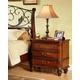 Fairfax Home Furnishings Tuscany Three Drawer Nightstand in Rich Brown - 3290-01