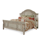 A.R.T. Belmar II King Panel Bed in White