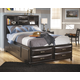 Kira Youth Full Storage Panel Bed