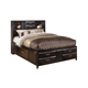 Kira Cal King Storage Panel Bed