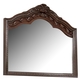 Ledelle Mirror in Brown B705-36