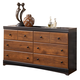 Aimwell Dresser in Dark Brown B136-31