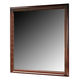 Alisdair Mirror in Dark Brown B376-36