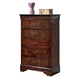 Alisdair Chest in Dark Brown B376-46