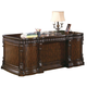 Coaster Tucker Double Pedestal Desk in Rich Brown 800800