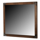 Delburne Mirror in Medium Brown B362-26