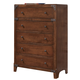 Delburne Chest in Medium Brown B362-45