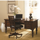 Aspenhome E2 Class Villager Home Office Desk Set in Warm Cherry