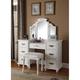 ACME Furniture Torian White Finish Vanity Set
