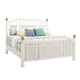 Tommy Bahama Ivory Key Prichards Queen Panel Bed