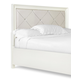 Magnussen Furniture Diamond Queen Island Headboard in Pearlized White B2344-50H