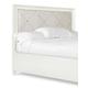 Magnussen Furniture Diamond King/California King Island Headboard in Pearlized White B2344-60H