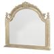 American Drew Jessica McClintock Boutique Landscape Mirror in White Veil 217-021W