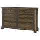 American Drew Jessica McClintock Boutique 8-Drawer Dresser in Baroque 217-130B