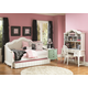Magnussen Furniture Gabrielle Daybed Bedroom Set in Snow White
