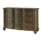 American Drew Jessica McClintock Boutique 9-Drawer Dresser in Baroque 217-131B