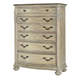 American Drew Jessica McClintock Boutique Drawer Chest in White Veil 217-215W