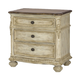 American Drew Jessica McClintock Boutique Drawer Nightstand in White Veil 217-420W