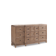 A.R.T. Ventura Drawer Dresser in Medium Oak Finish