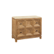 A.R.T. Ventura Bachelor Chest with Stone Top in Medium Oak Finish