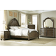American Drew Jessica McClintock Boutique Mansion Bedroom Set in Baroque