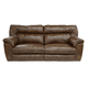 Catnapper Nolan Extra Wide Reclining Sofa in Chestnut