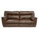 Catnapper Nolan Extra Wide Power Reclining Sofa in Chestnut
