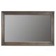 Bernhardt Belgian Oak Wood-Framed Wall Mirror in French Truffle 337-331