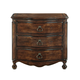 Bernhardt Normandie Manor Nightstand with Antique Drawer Pulls in Caffe Brown 317-229