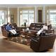 Catnapper Dallas Power Reclining Living Room Set in Tobacco