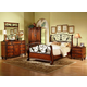 Fairfax Home Furnishings Tuscany Media Chest in Rich Brown - 3290-05