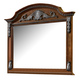Fairfax Home Furnishings Orleans Mirror in Antique Brown 5545-10