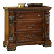 Fairfax Home Furnishings Orleans Nightstand in Antique Brown 5545-01