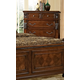 Fairfax Home Furnishings Orleans Large Chest in Antique Brown 5545-07