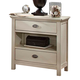 Fairfax Home Furnishings Pacifica Nightstand in Burnished Creme 9400-01