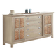 Fairfax Home Furnishings Pacifica Dresser in Burnished Creme 9400-10