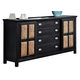 Fairfax Home Furnishings Pacifica Dresser in Burnished Ebony 9401-10