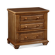 Fairfax Home Furnishings Taylor Nightstand in Deep Honey Maple 5043-01