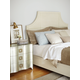 Bernhardt Salon Panel Bedroom Set in Alabaster